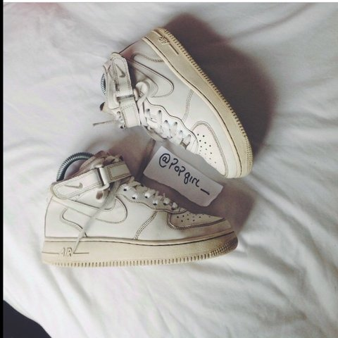 4c38004d32 @popgirl_. 4 years ago. Manchester, UK. Unisex uk 3 - Nike Air Force 1. 5/10  condition ...