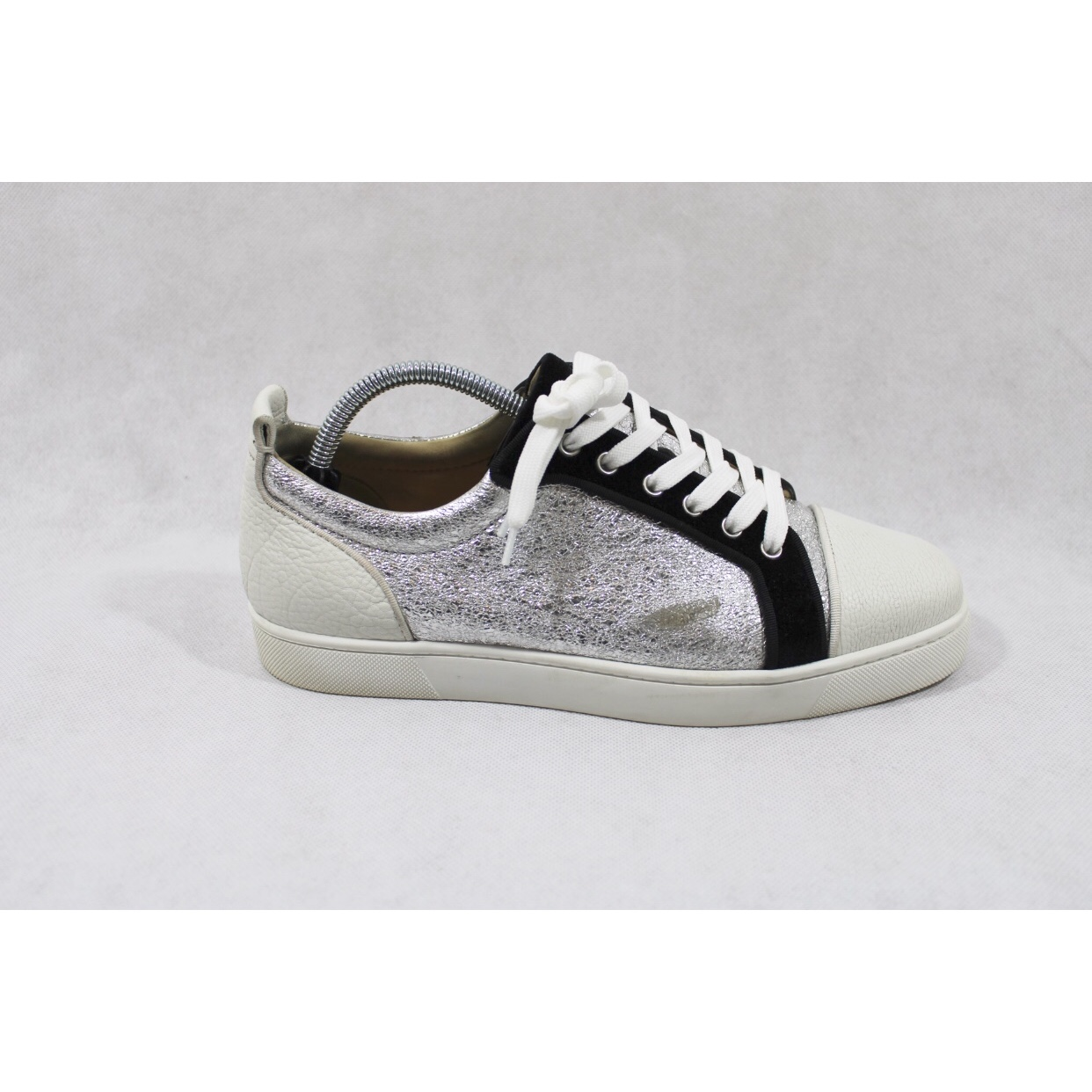 new style 15ee6 a37e6 Christian Louboutin Louis Junior Orlato Trainers RRP... - Depop
