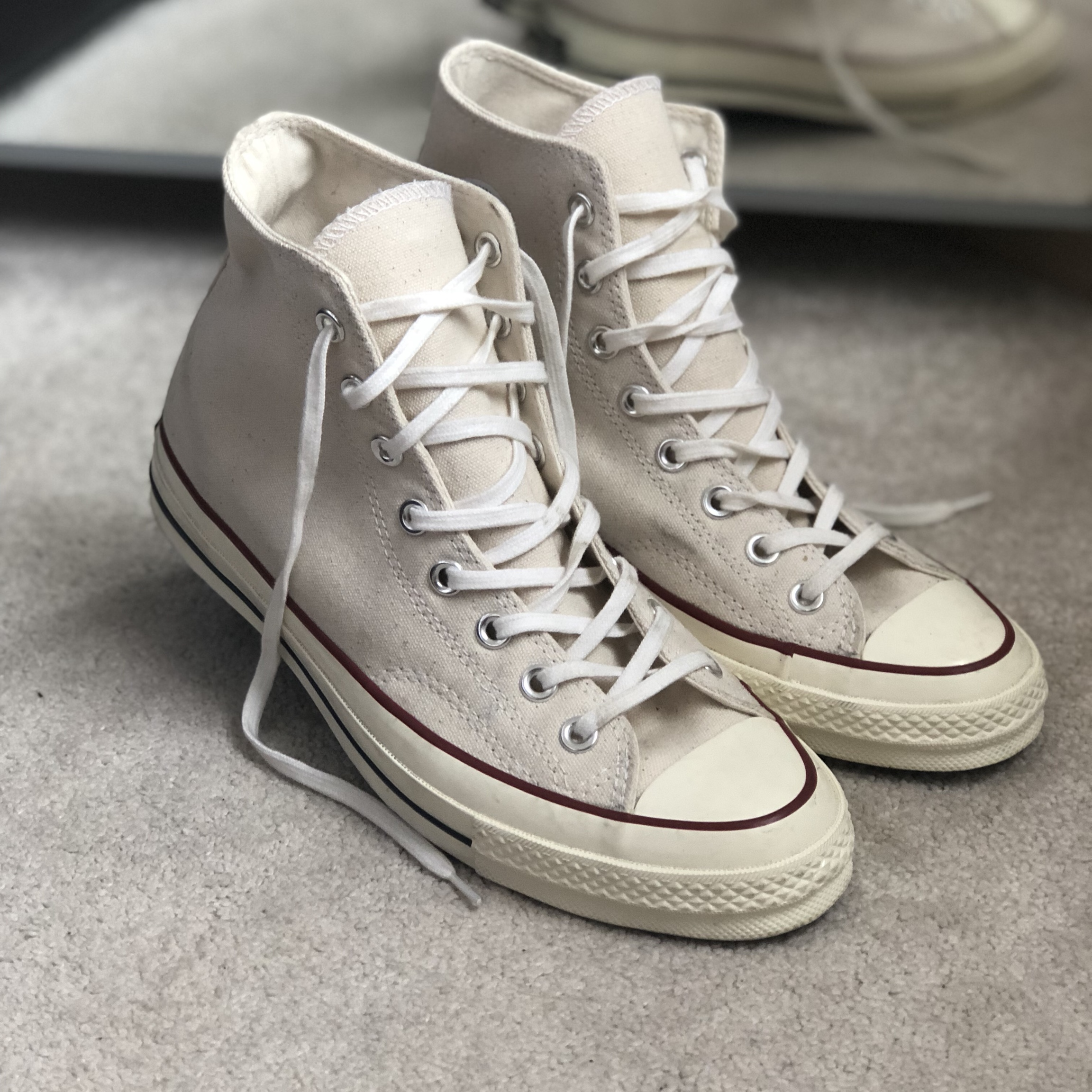 817947821806 Converse off white Chuck Taylor all star  70 high top new OG - Depop