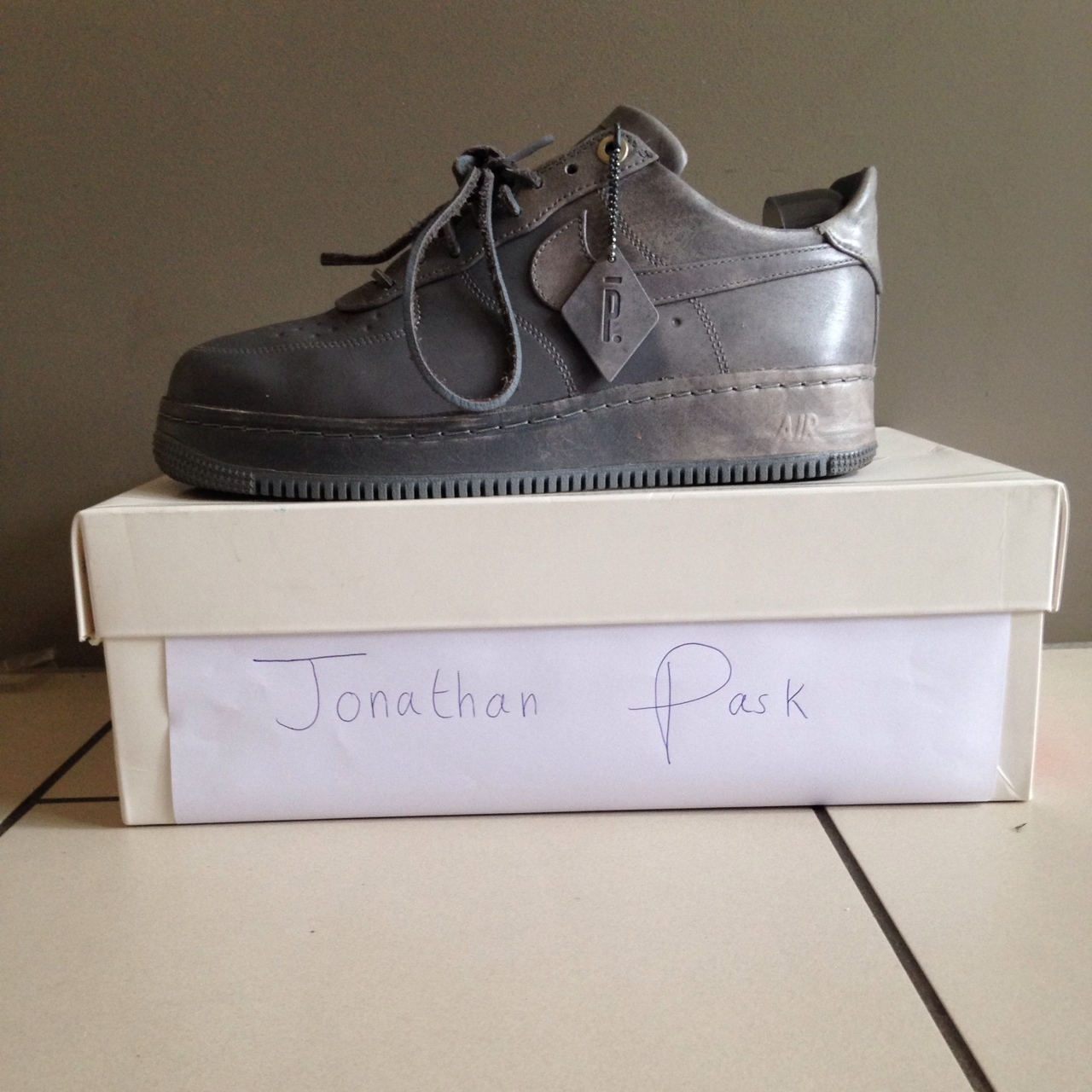 Nike Air Force 1 low x Pigalle, size UK7, 8.510 Depop