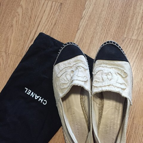 9950e3bd8d6 Chanel espadrilles. Made in Spain. Purchased at Saks Fifth 6 - Depop
