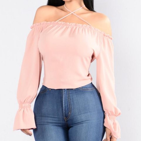 ee4e3c60edb BRAND NEW with tags💓 size 2x Fashion Nova Curve Cubana Top - Depop