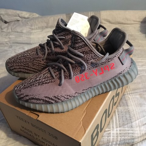 709d810d75e5b Adidas Yeezy Boost 350 v2 in the Beluga 2.0 style. Size UK8 - Depop