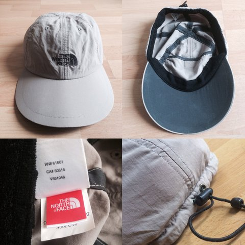 Vintage the north face long bill hat cap 7ac50517cf4e
