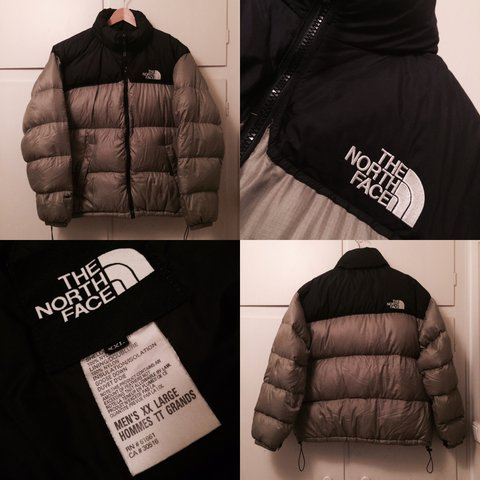 Vintage the north face tnf 700 nuptse puffer down jacket in - Depop a462d391a