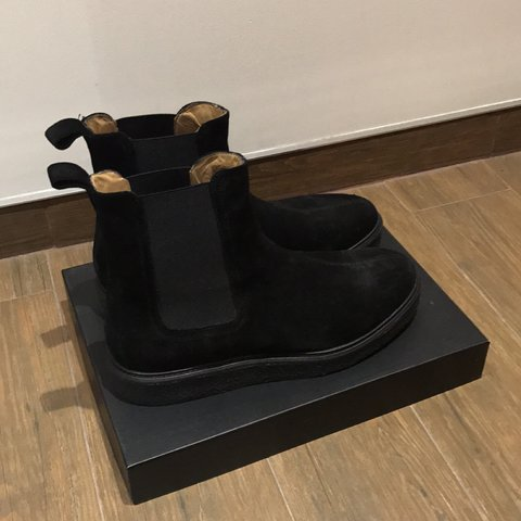 a88985adfc REPRESENT WEDGE BOOT BRAND NEW out of box once. UK 10. Onyx - Depop