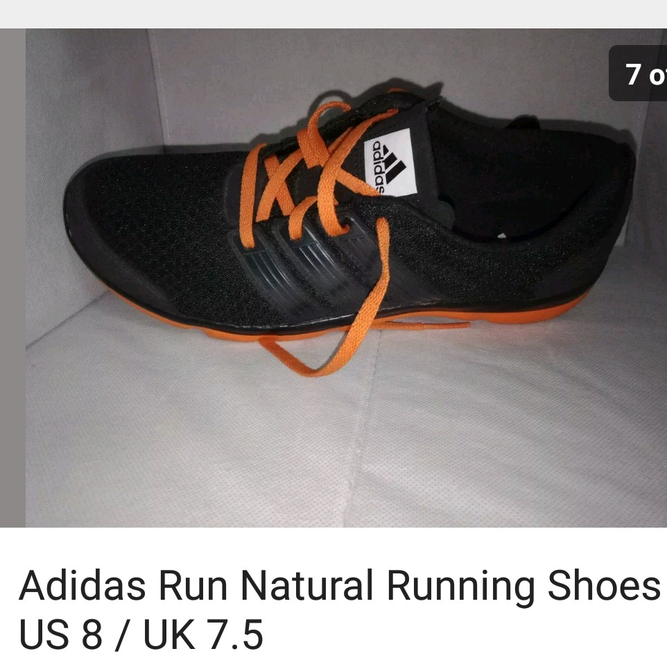 finest selection e966d f4cd1 Adidas Run Natural running shoes US 8/ UK 7.5... - Depop