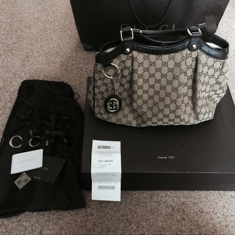 Genuine Gucci Sukey handbag. Gucci bag. With Selfridges gift - Depop 0054088162a01