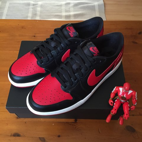 best service e903a b2e58  cafer k. 3 years ago. London, UK. Air Jordan 1 Retro Low OG Bred ...