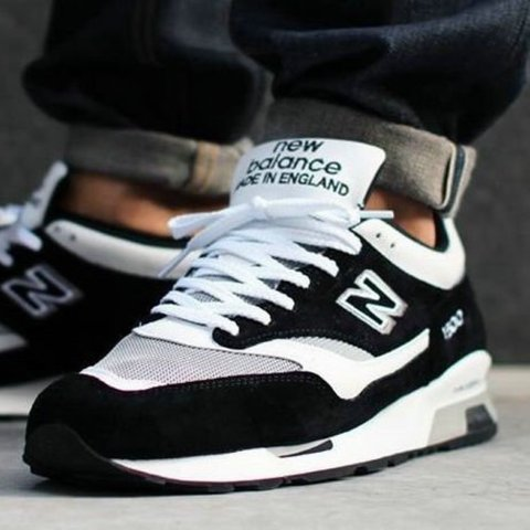 New Balance 1500 Black and white size 9. These are... - Depop