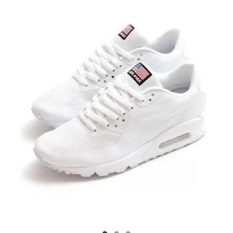 low priced fe86d aadb5  sammymarriott. 4 years ago. Worcestershire, UK. ♢️White Nike AirMax  Independence Day ...