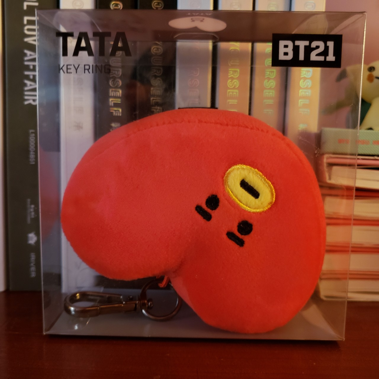 bt21 tata keyring never opened, will come in box    - Depop