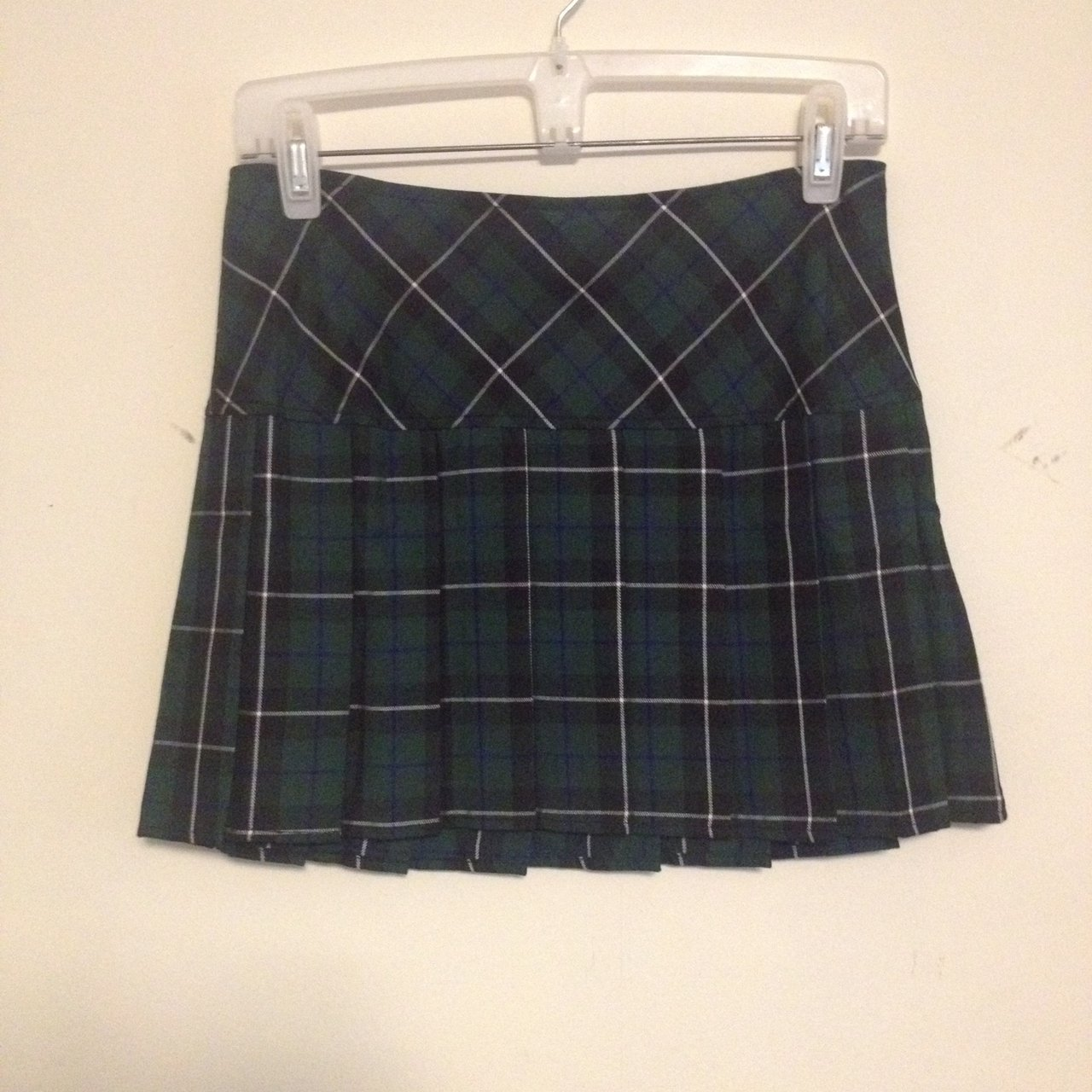 d857403356 Blue And Green Plaid Pleated Skirt – DACC