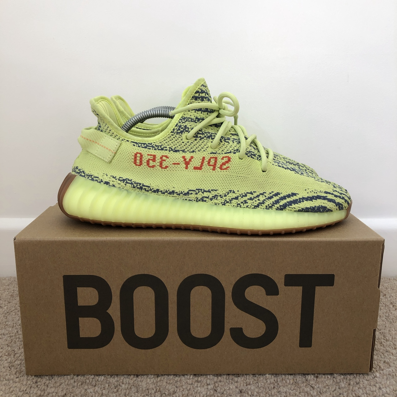 Adidas Yeezy Boost 350 V2 (Frozen Yellow) Size: UK Depop