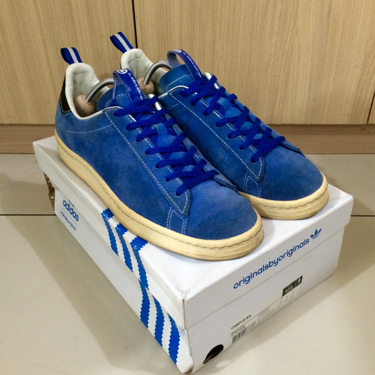 the latest 9760d 5f428 Ready Stock: adidas OBYO Campus 80's x KZK X... - Depop