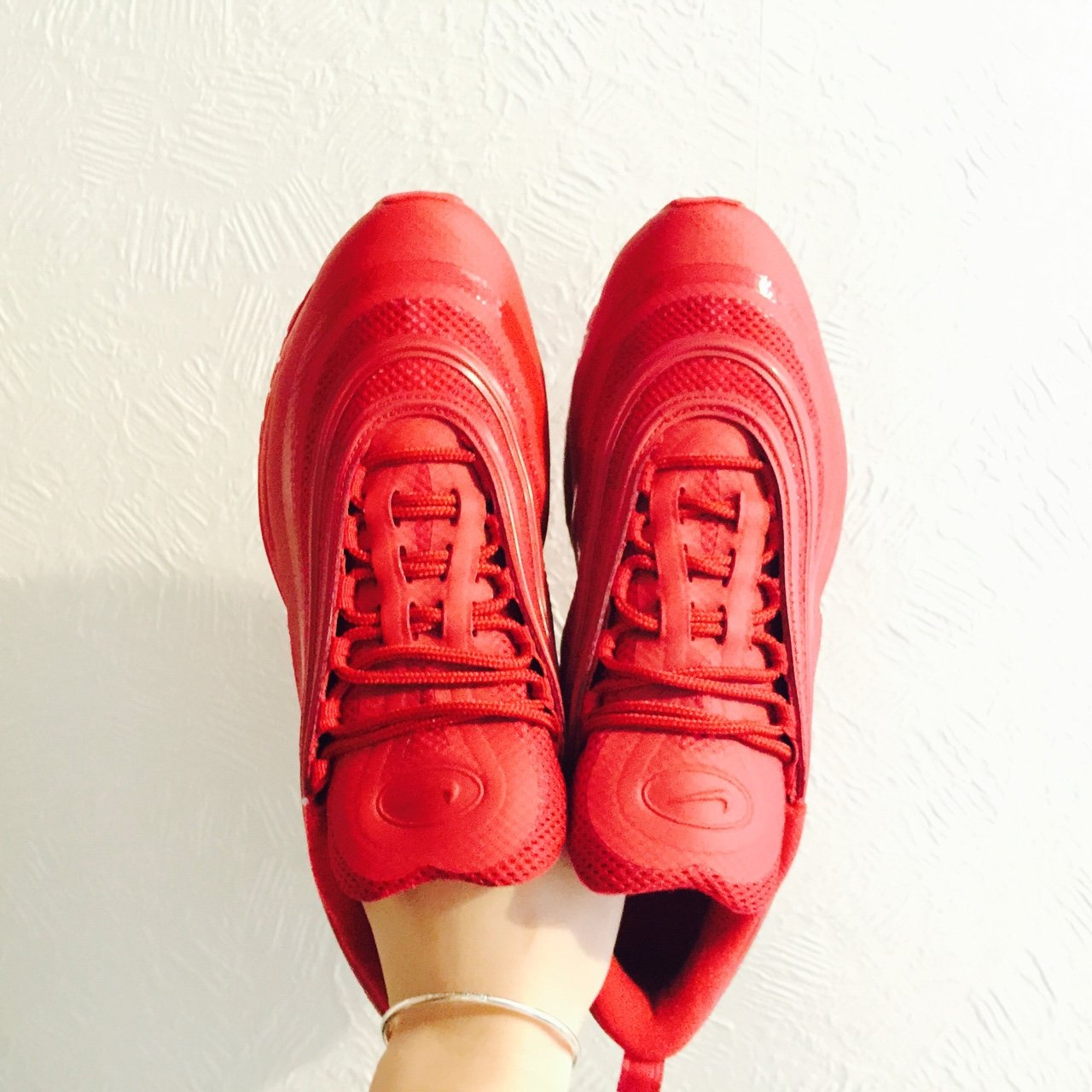 new styles ef1ee 754af  hellochildrennn. 4 years ago. Leicester, UK. Nike Air max 97 Hyperfuse Gym  Red ...