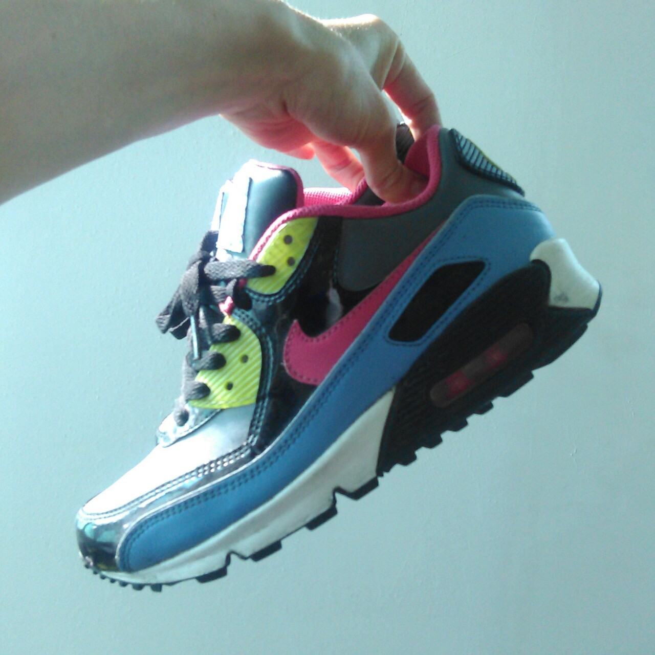 Authentic Nike Air Max 90 GS Halloween pack 2007. In