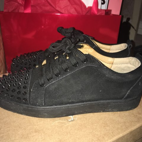 a11411d1ad7d  cupcake14794. 5 months ago. United Kingdom. Men s Christian louboutin  spike trainers ...