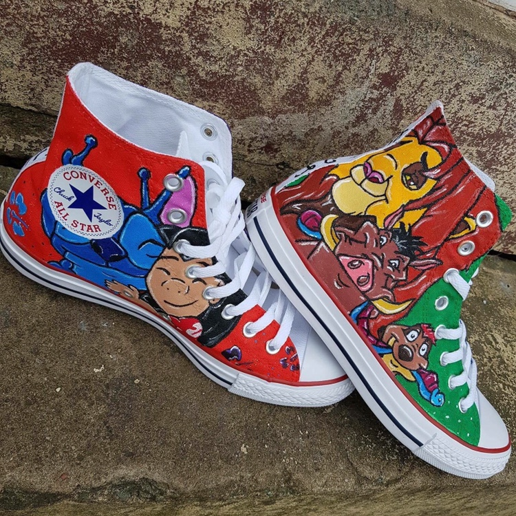 Hand painted shoes. Choose your designs
