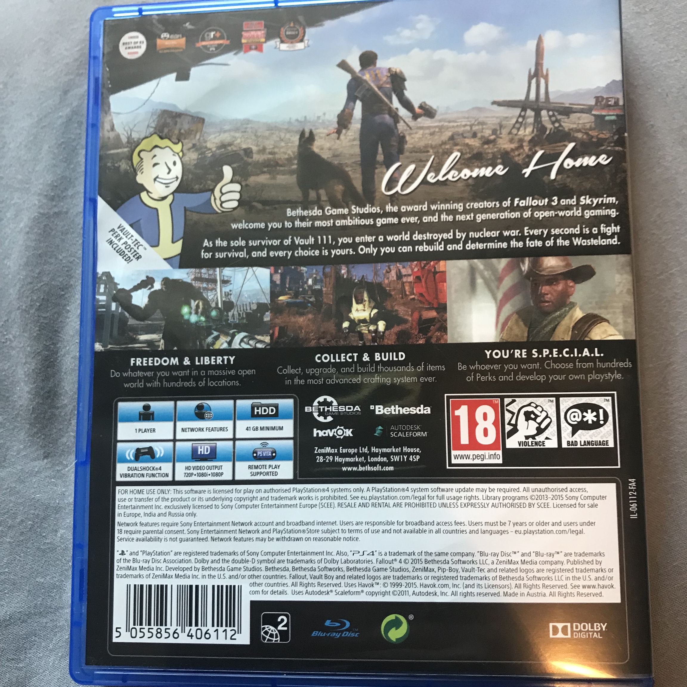 Fallout 4  Ps4  Used once great condition  £4 and    - Depop