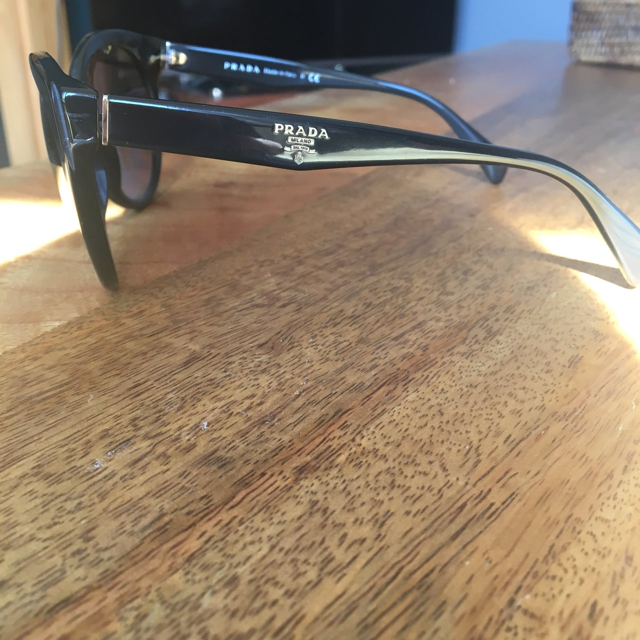 f0bbc3fef342 Authentic Prada Sunglasses    REDUCED    Purchased from as - Depop