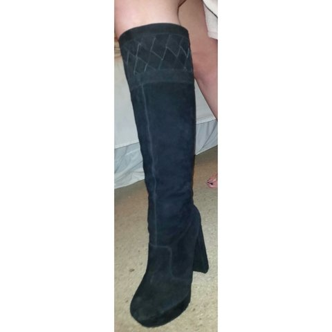 407a2d84e09 Gorgeous Office knee high boots. As you can see from photo