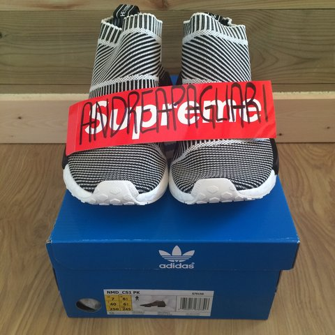 2559895fb Adidas NMD City Sock DS ( never worn ) with OG Box - Size US - Depop