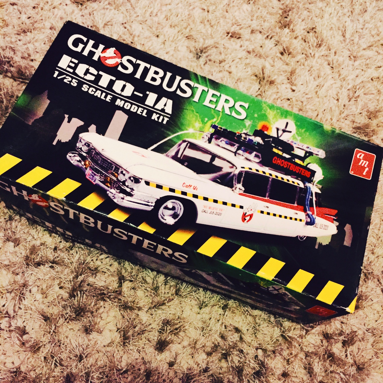 Ghostbusters Ecto 1 1/25 scale model - All parts    - Depop