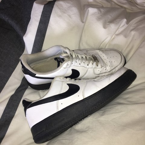 9dfb8f0a1e8 ... new zealand rare nike air force 1 limited edition white and black great  depop 1a3bc 8c5b1
