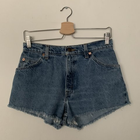 0440b8012b @carlenehayes. 8 days ago. Leicester, United Kingdom. Vintage Levi's cut  off shorts • Bought from Urban Outfitters ...