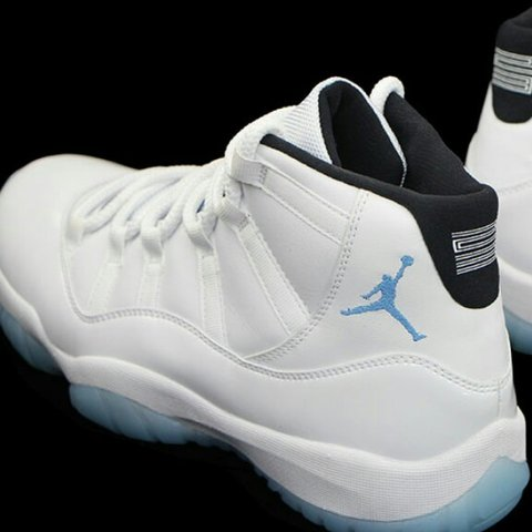 148282896f55 Brand New Nike air Jordan retro 11 columbia legend blue size - Depop