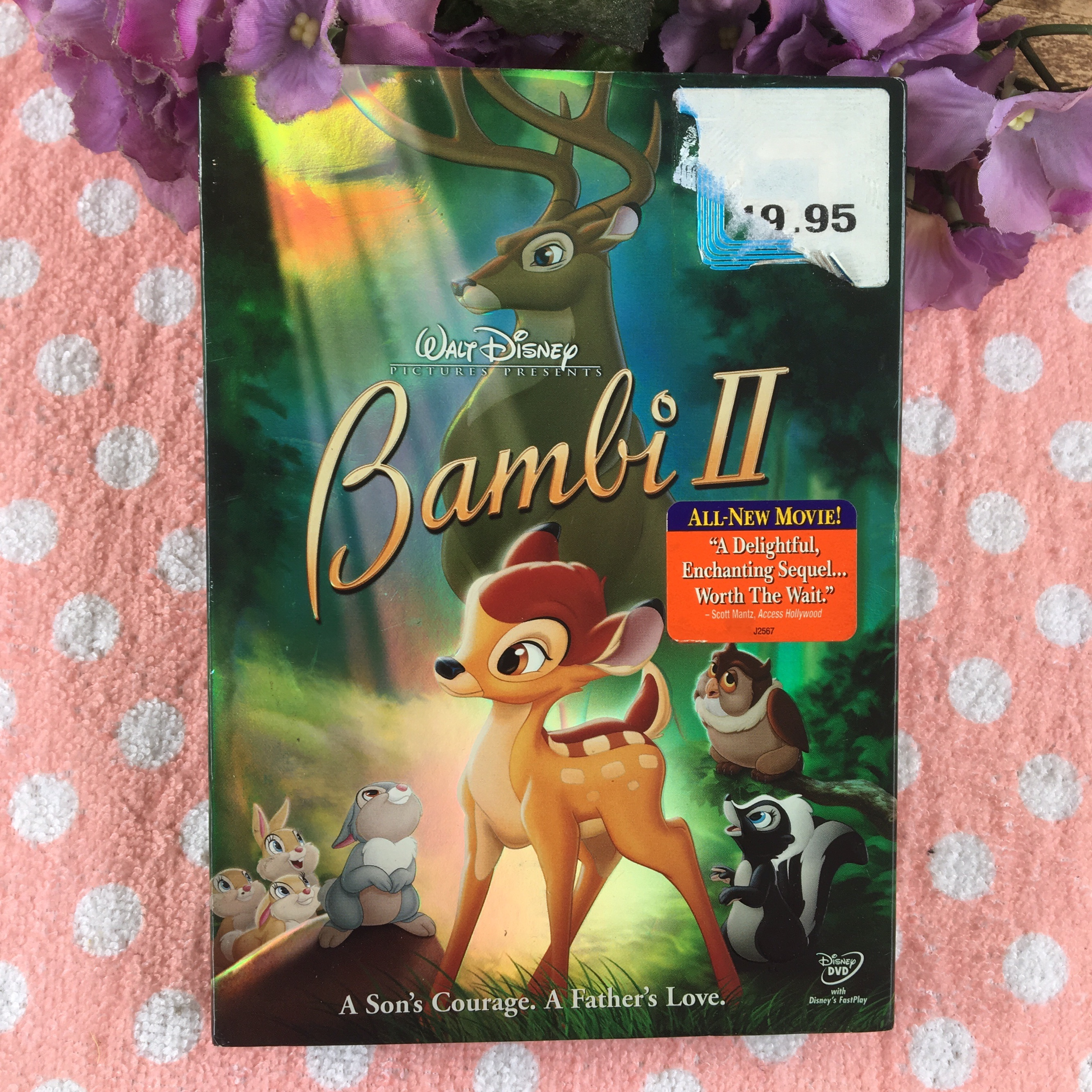 Walt disney's Bambi 2  Beautiful and heartwarming    - Depop