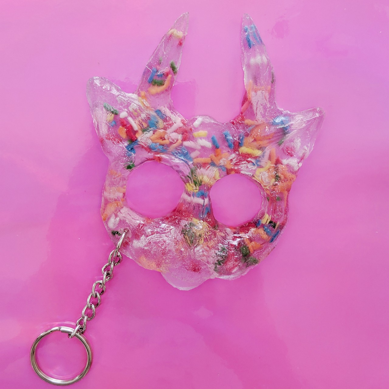 Handmade Self Defense Keychain Clear With Depop