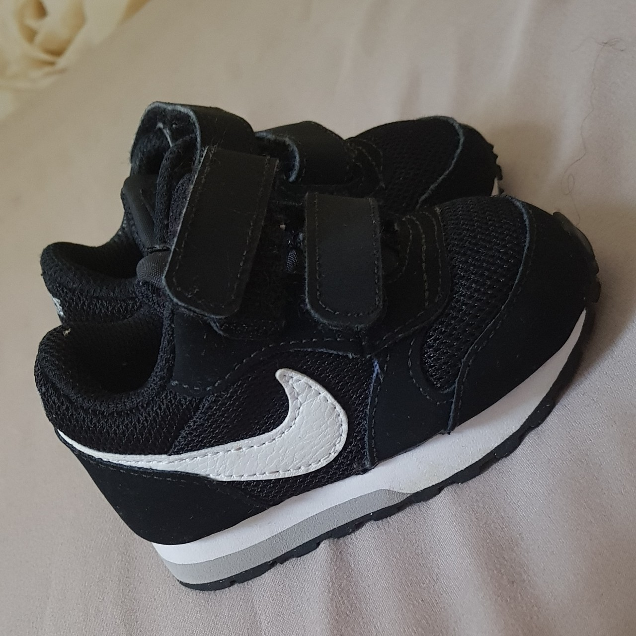 Baby/Infant Black Nike Trainers Size 2
