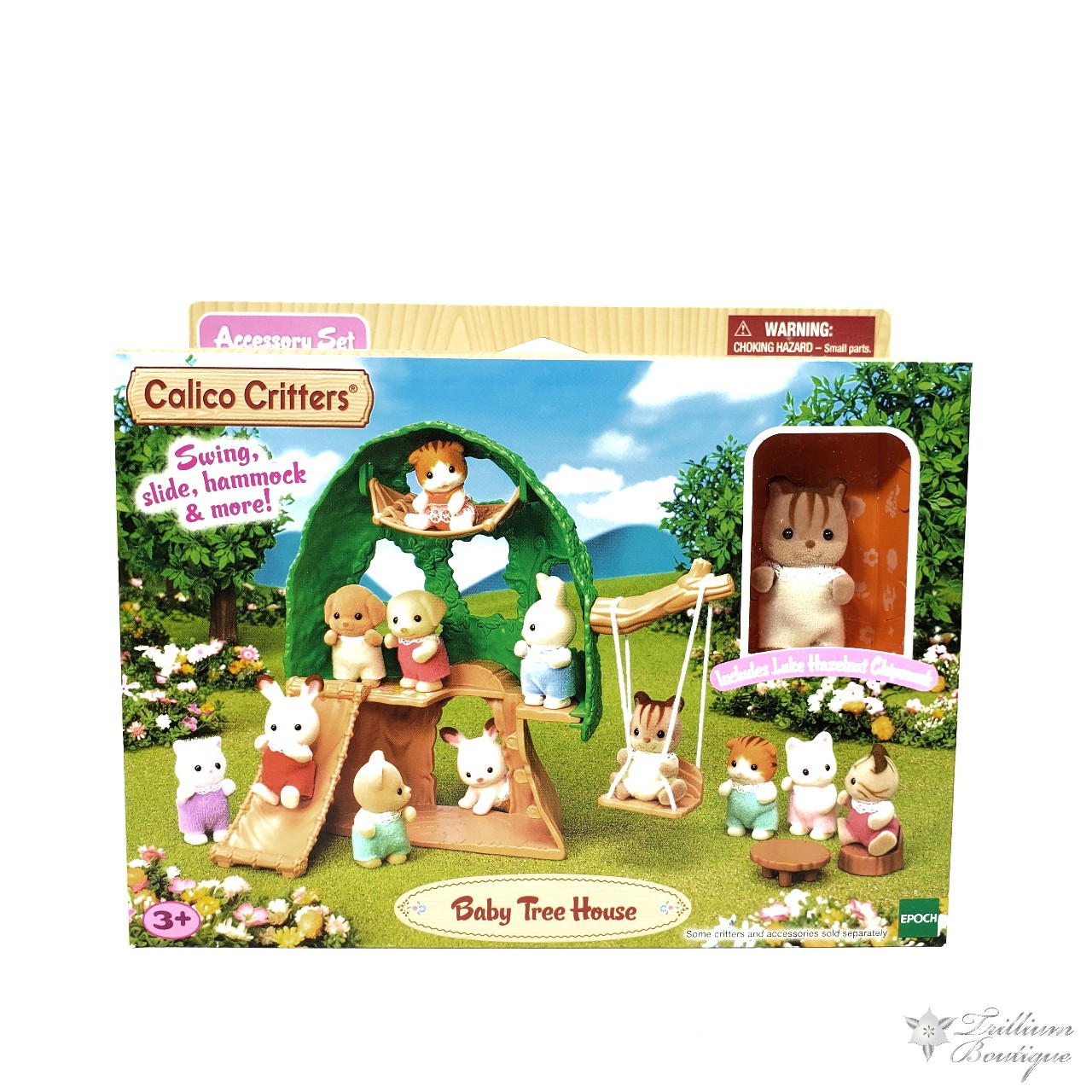 Picture of: Calico Critters Baby Tree House Kids Toy New In Depop