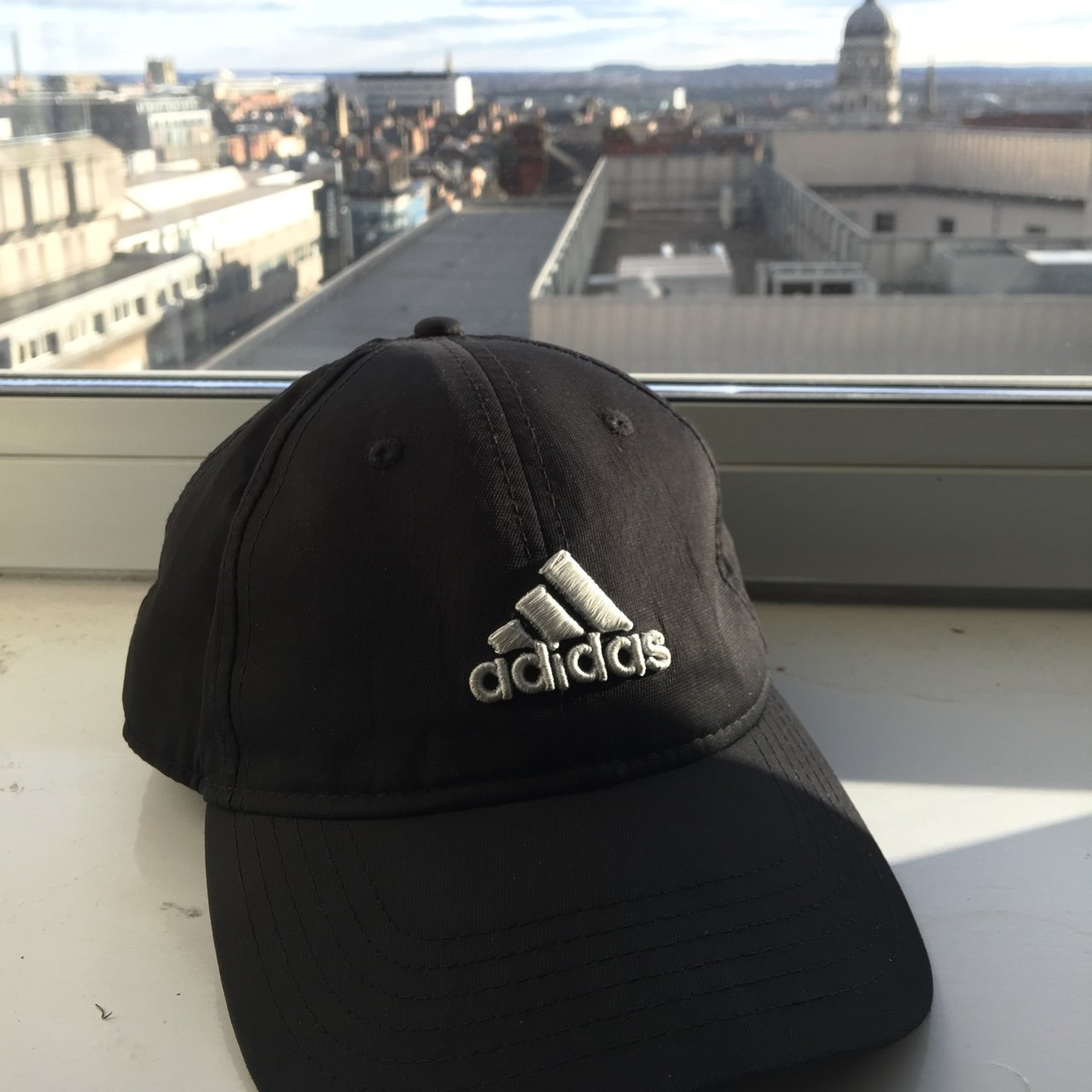 Black Adidas cap- Perfect for all your roadman needs- great - Depop 08776267df5
