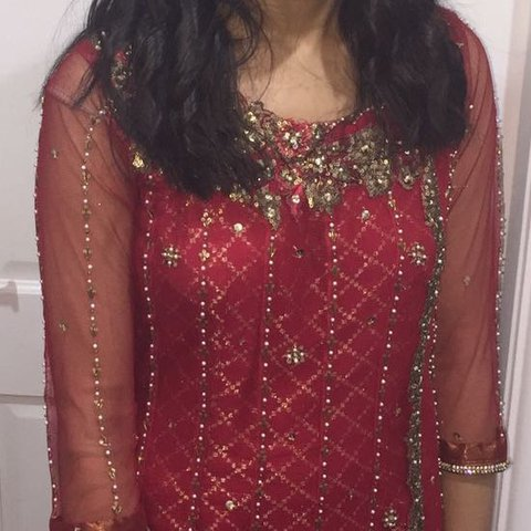d072284ef5 Amazing designer pakistani outfit for wedding. As worn by of - Depop