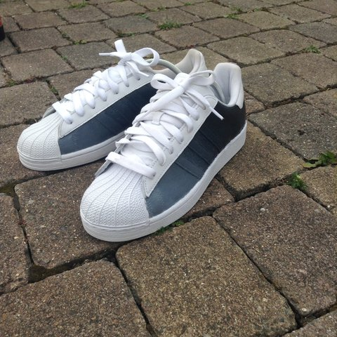 7fd9f264669b BRAND NEW ADIDAS SUPERSTAR CUSTOMS🎨 hashtag  trainers  new - Depop