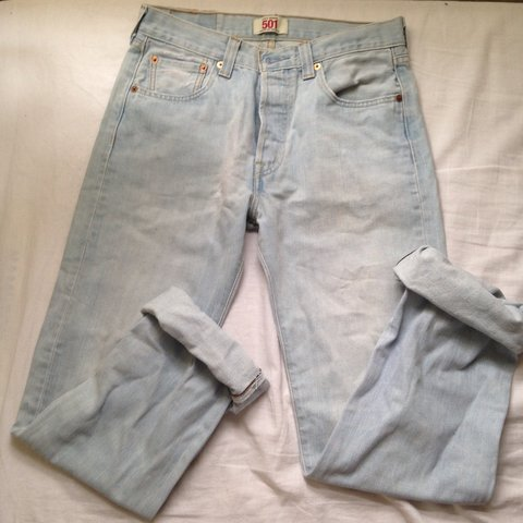 22ca4bb4 @rubydollner. 4 years ago. London, United Kingdom. Washed out light blue  Levi jeans straight leg good condition never worn ...