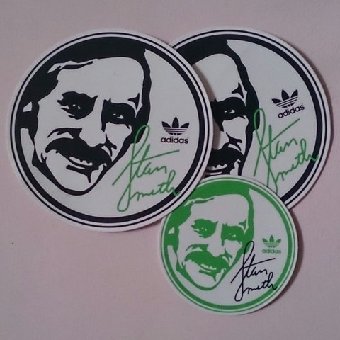 adidas stan smith with stickers