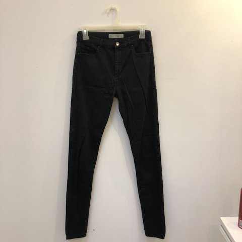 7aaf226a6614 Topshop Tall Black Leigh Jeans - Size 28 x 36 Gently worn