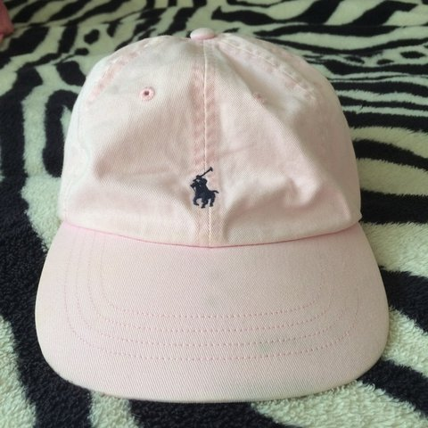 4688fb5fbc715 •RESERVED• Baby pink real Ralph Lauren polo hat
