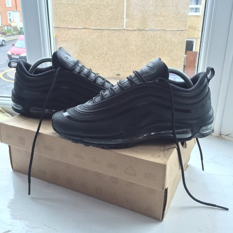 c99bffc88f ... switzerland nike air max 97 hyperfuse in black from 2012 great shoe and  depop 41e79 b20ca