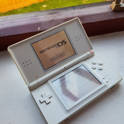 Nintendo Ds Lite In White I Dont Use It Anymore Comes And Depop