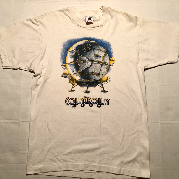 Item: Vintage 1990 Countdown to 2000 Graphic T-Shirt
