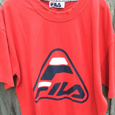 9557771bcfad @neweravintageclothing. 3 years ago. London, UK. Vintage FILA T-Shirt - Size  - L