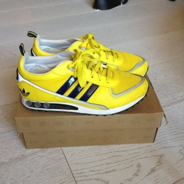 adidas la trainer 2 yellow