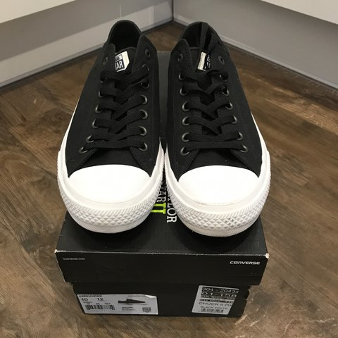 7a4773d14058 FOR SALE  Converse All Star Chuck 2 Black White. Immaculate - Depop