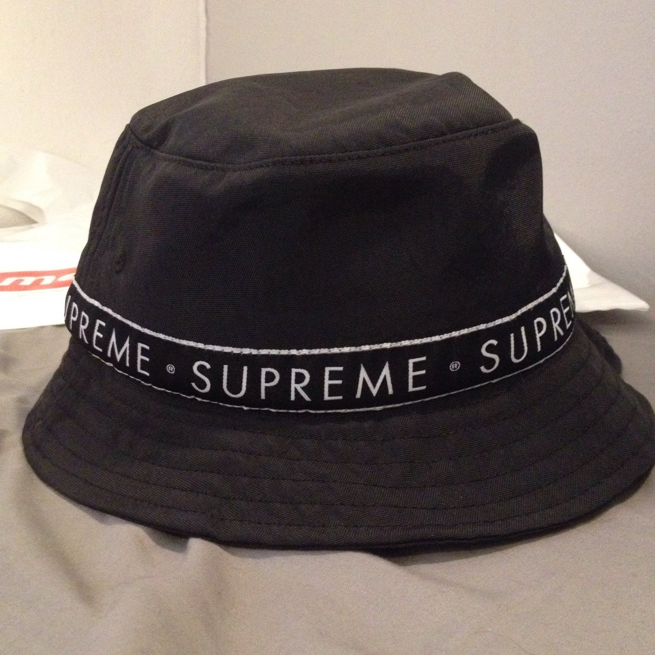 Supreme bucket hat brand new never worn ignore - bape louis - Depop 8849028a25d