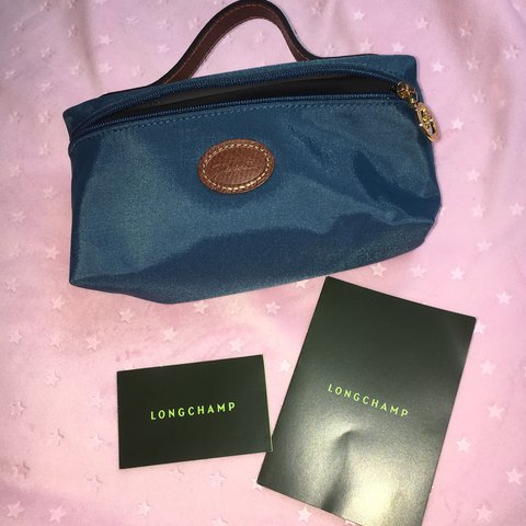 Brand new! Authentic cosmetic case by the iconic Longchamp - Depop 3738994e28b05